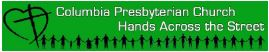 Columbia Presbyterian Church/Hands Across the Street logo
