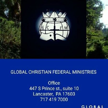 Global Christian Federal Ministries, Inc. logo