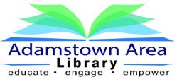 Adamstown Area Library logo