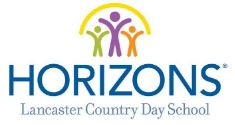 Horizons at Lancaster Country Day School logo
